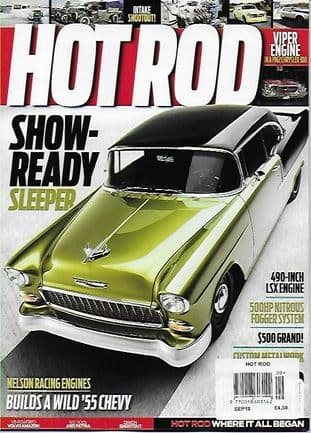 Hot Rod Magazine - Issue 2018-09 September 2018